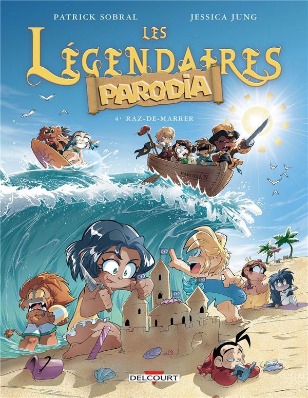 LES LEGENDAIRES - PARODIA 04. RAZ-DE-MARRER - T4
