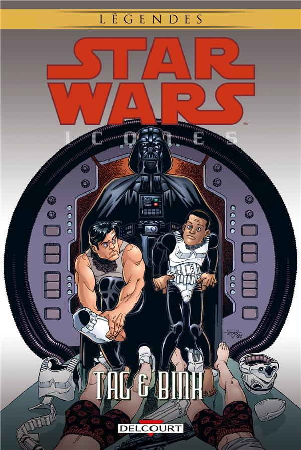 STAR WARS ICONES 07 : TAG & BINKS - STAR WARS - ICONES - T7