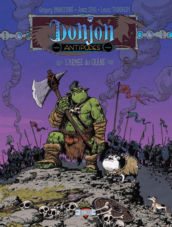 DONJON ANTIPODES -10000 - L'ARMEE DU CRANE