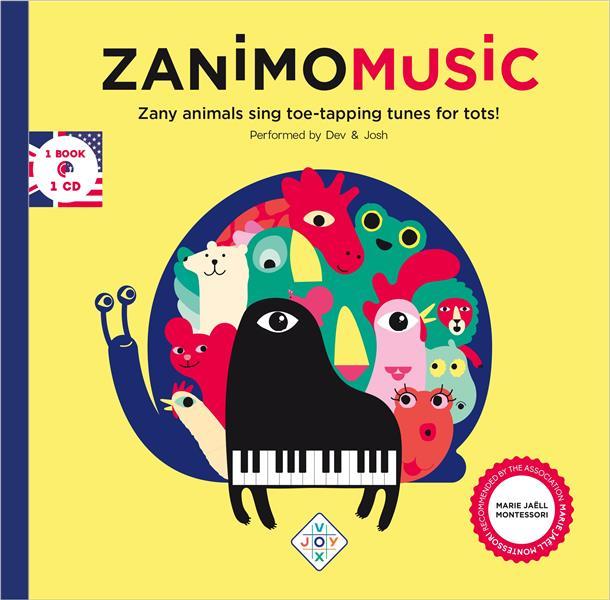 ZANIMOMUSIC EN ANGLAIS 1 LIVRE ET 1 CD
