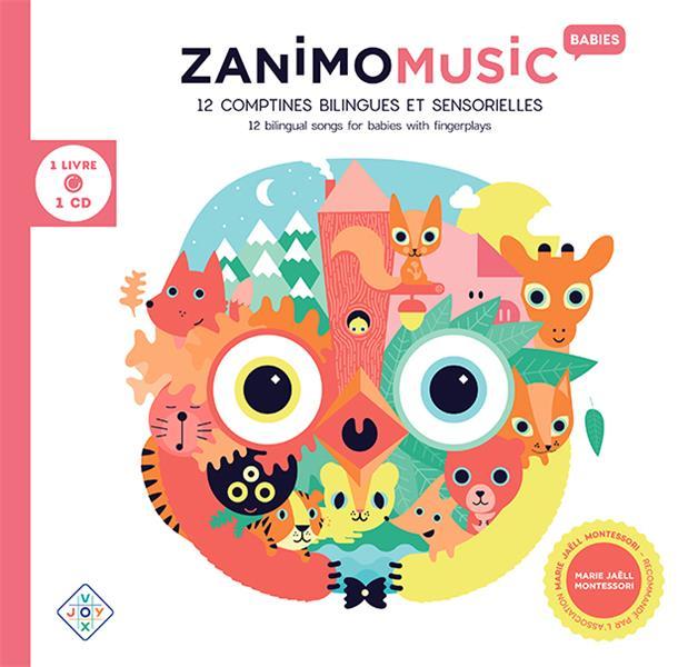 ZANIMOMUSIC BABIES (1 LIVRE 1 CD)