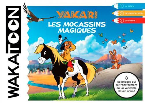 WAKATOON YAKARI,LES MOCASSINS MAGIQUES