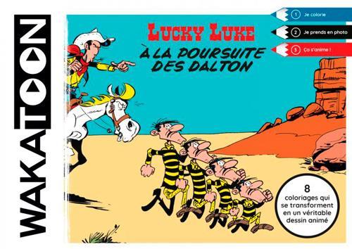 WAKATOON LUCKY LUKE,A LA POURSUITE DES DALTON