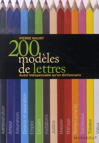 200 MODELES DE LETTRES