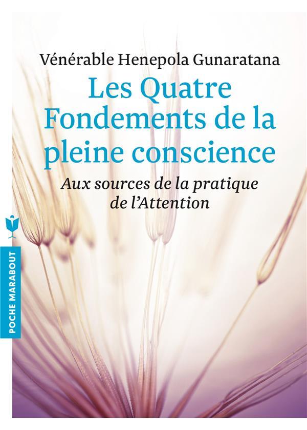 LES QUATRE FONDEMENTS DE LA PLEINE CONSCIENCE - AUX SOURCES DE LA PRATIQUE DE L'ATTENTION