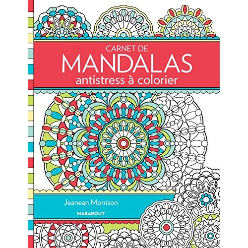 CARNET DE MANDALAS ANTISTRESS A COLORIER