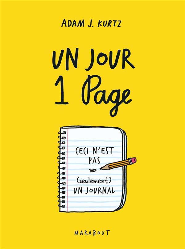 UN JOUR, UNE PAGE - CECI N'EST PAS (SEULEMENT) UN JOURNAL