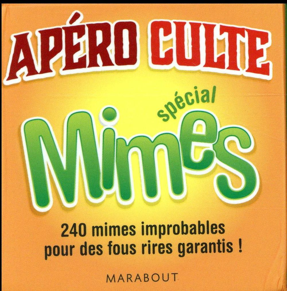 APERO CULTE SPECIAL MIMES