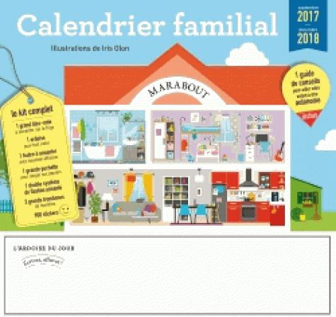 CALENDRIER FAMILIAL MARABOUT 2017/2018