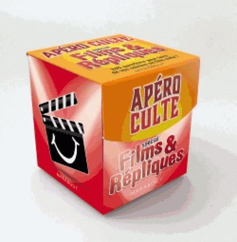 MINI-BOITE APERO CULTE SPECIAL FILMS ET REPLIQUES