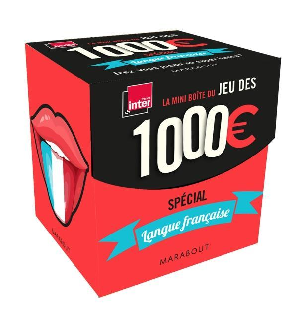 MINI-BOITE 1000 EUROS LANGUE FRANCAISE