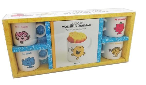 COFFRET LES MINI MUGCAKES MONSIEUR-MADAME