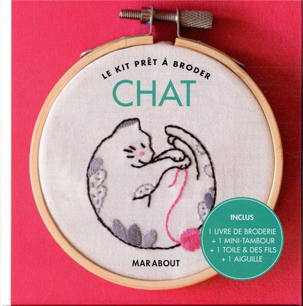 KIT PRET A BRODER - CHAT