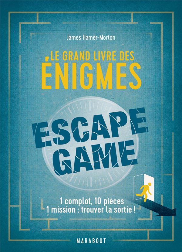 LE GRAND LIVRE DES ENIGMES ESCAPE GAME