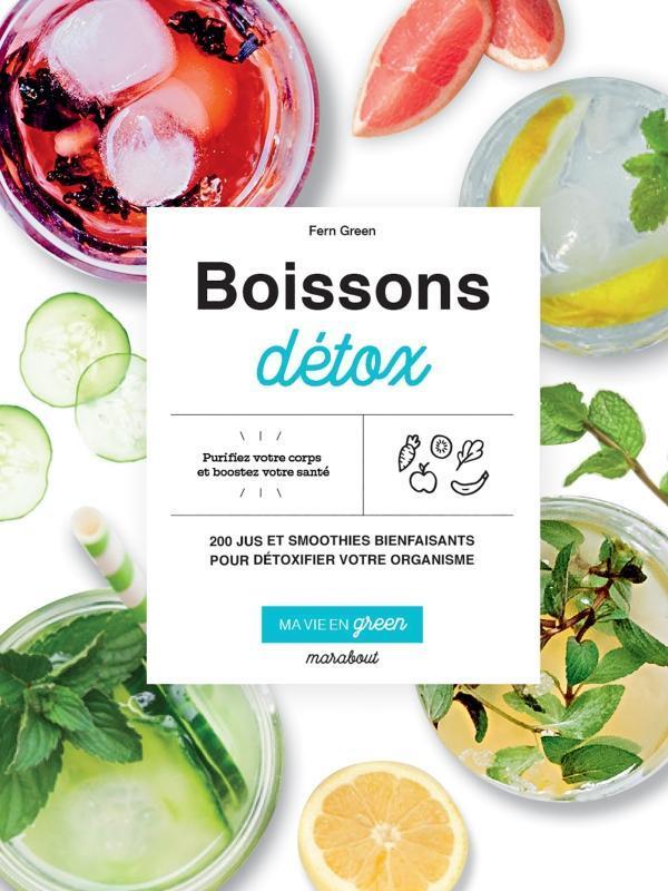MA VIE EN GREEN - BOISSONS DETOX