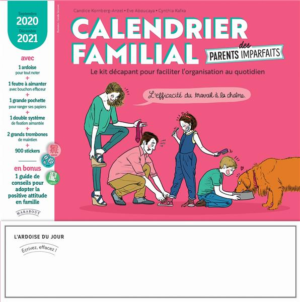 CALENDRIER PARENTS IMPARFAITS 2020-2021