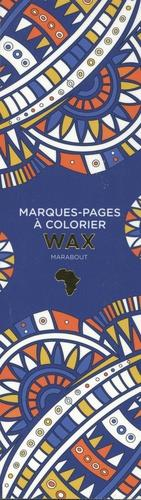 MARQUE-PAGES A COLORIER - WAX