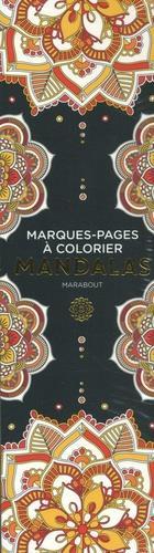 MARQUE-PAGES A COLORIER - MANDALAS