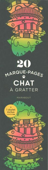 MARQUE-PAGES A GRATTER CHAT