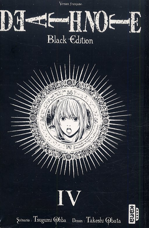 DEATH NOTE BLACK EDITION T4