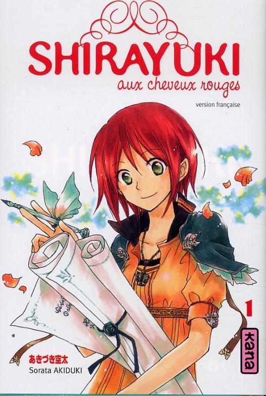 SHIRAYUKI AUX CHEVEUX ROUGES T1