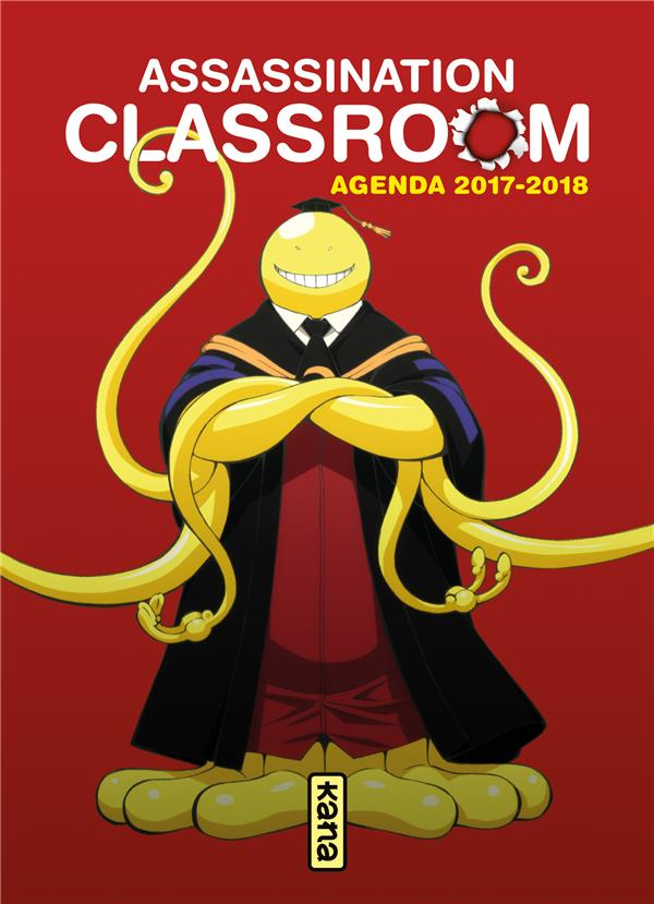 AGENDA ASSASSINATION CLASSROOM 2017 2018