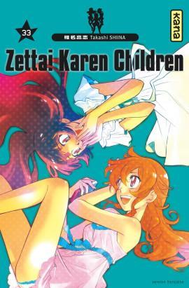 ZETTAI KAREN CHILDREN, TOME 33