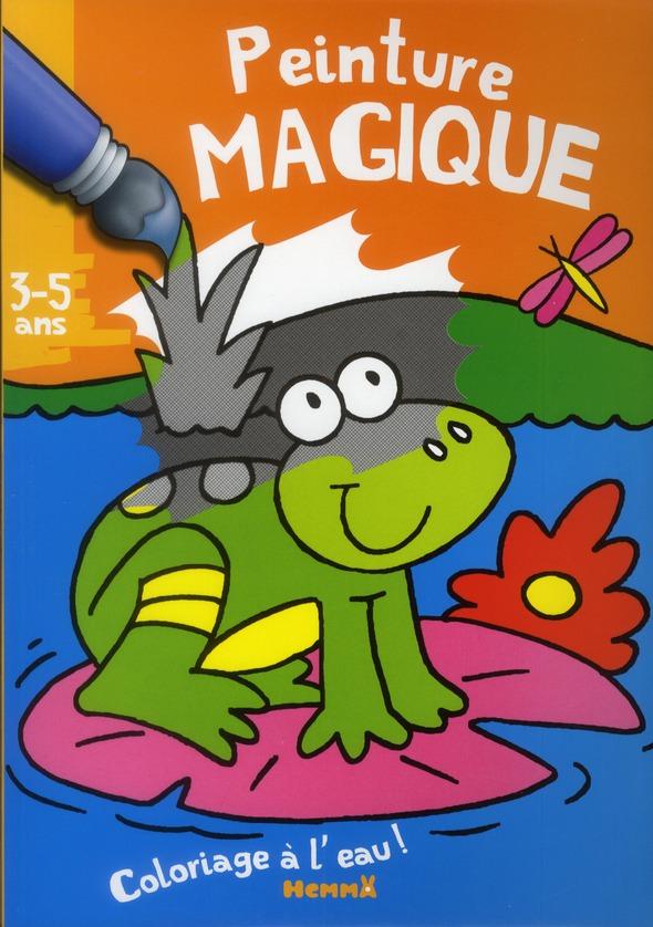 PEINTURE MAGIQUE (GRENOUILLE)