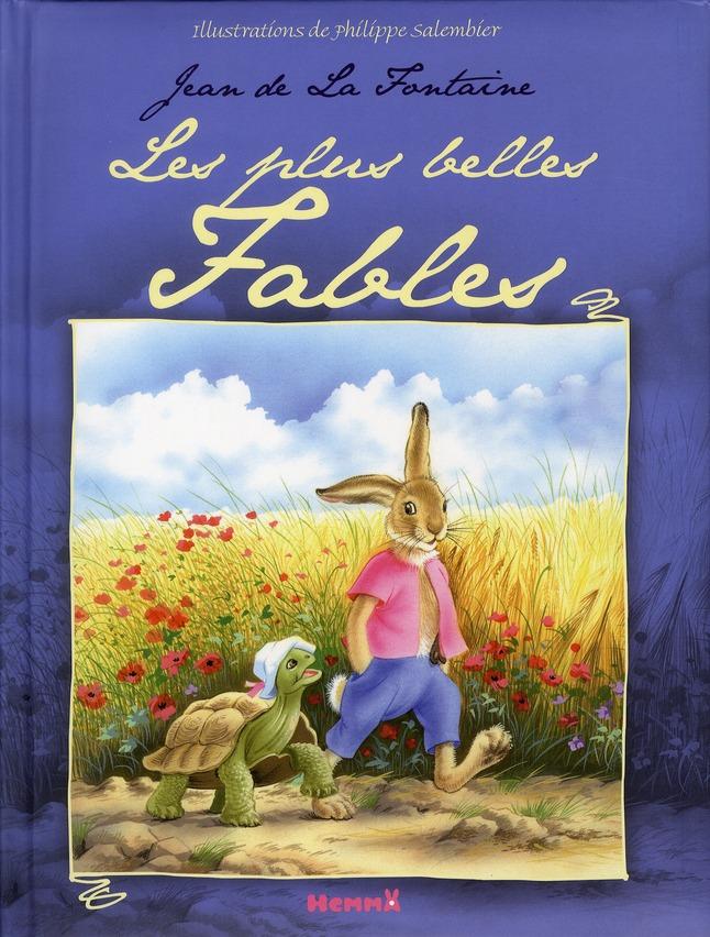PLUS BELLES FABLES DE LA FONTA