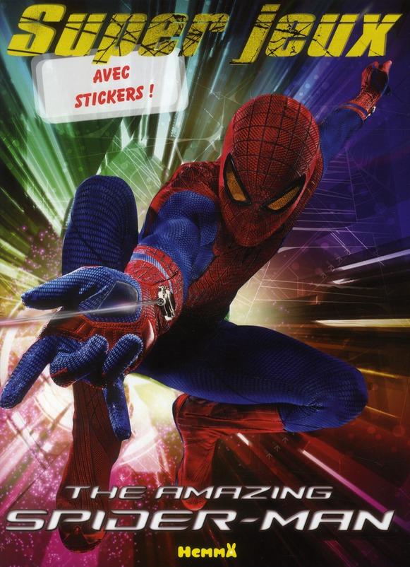 MARVEL THE AMAZING SPIDER-MAN SUPER JEUX AVEC STICKERS !