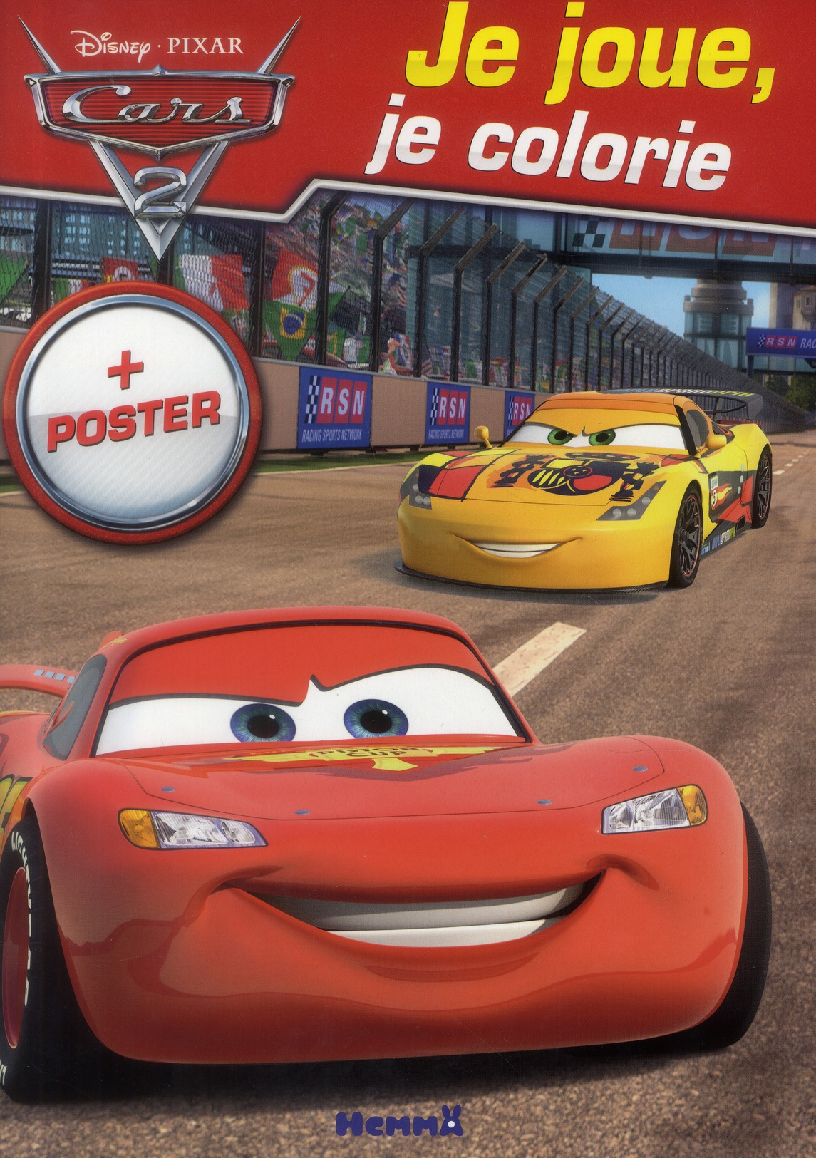 CARS 2 JE JOUE, JE COLORIE +