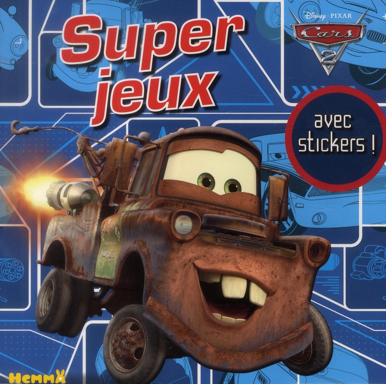 CARS 2 SUPER JEUX AVEC STICKERS !
