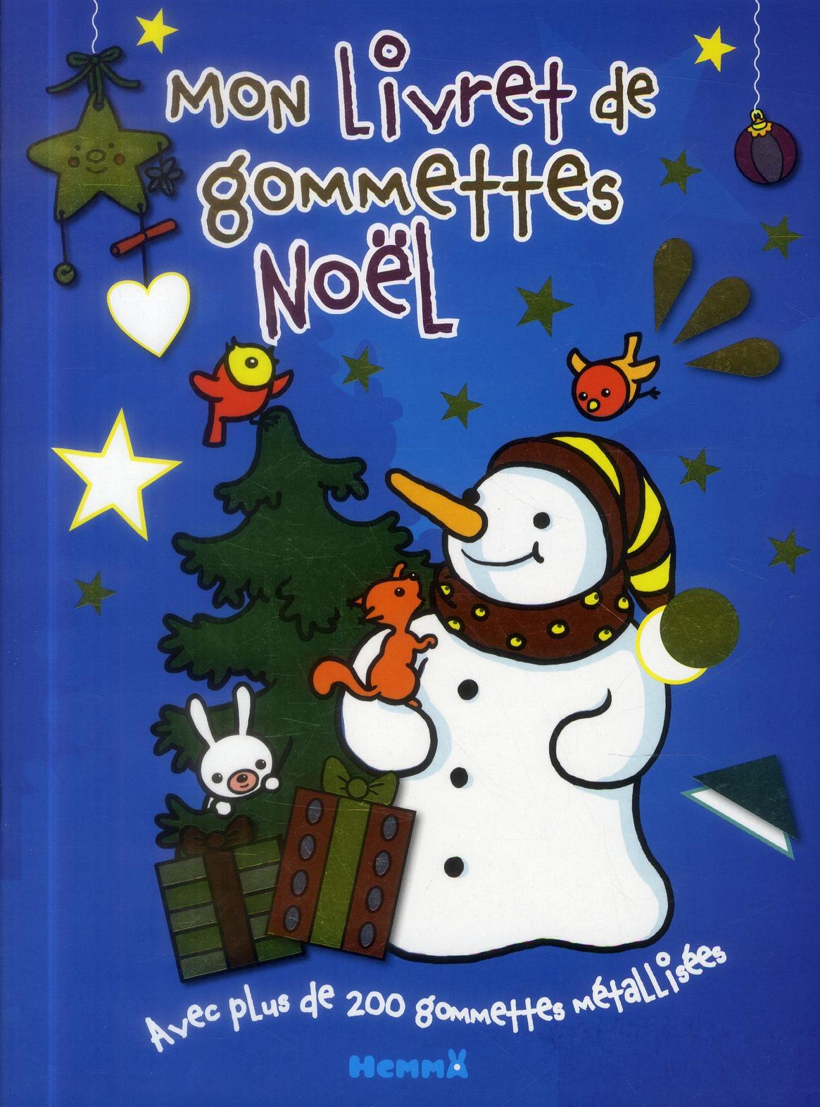MON LIVRET GOMMETTES NOEL SAPI