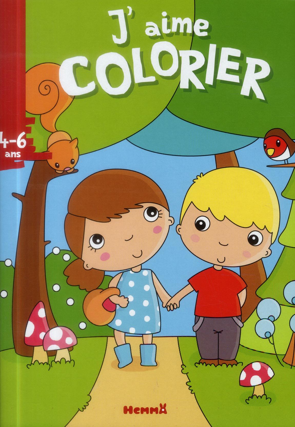 J'AIME COLORIER (4-6 ANS) (PRO