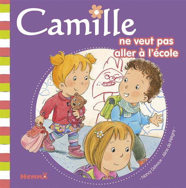 CAMILLE NE VEUT PAS ALLER A L'ECOLE T37