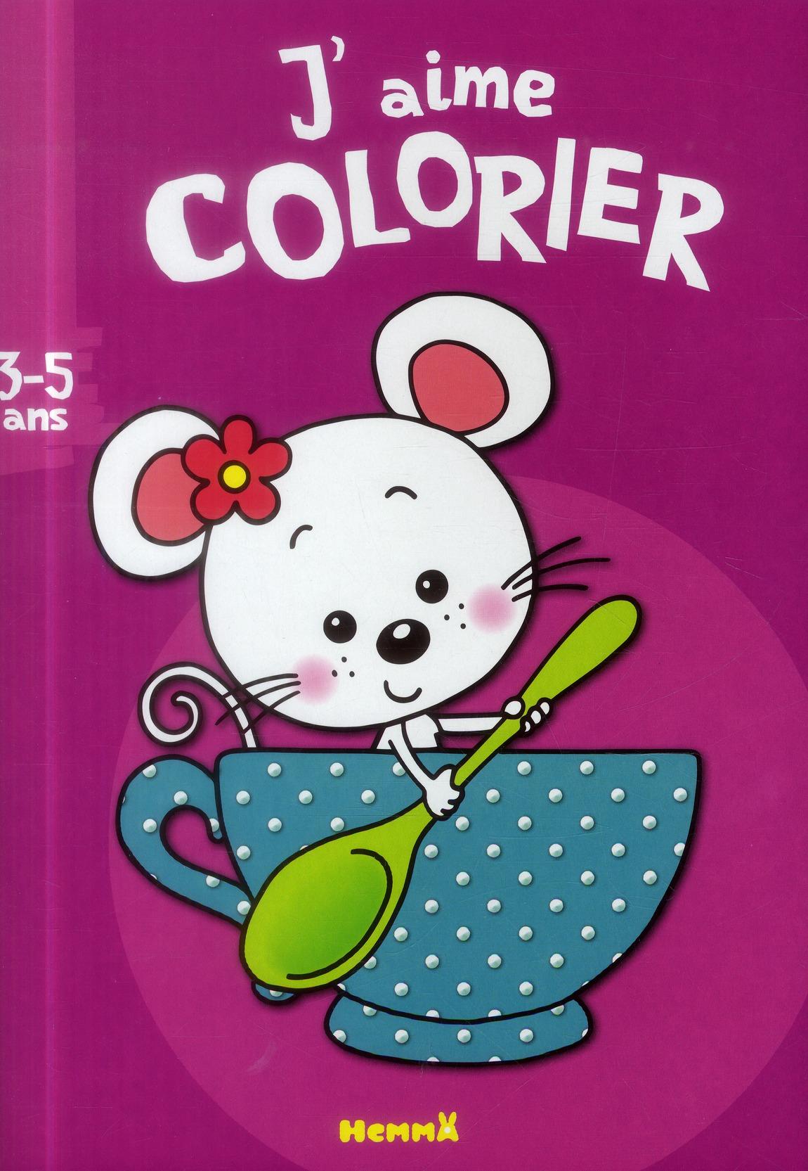 J'AIME COLORIER (3-5 ANS) (SOU