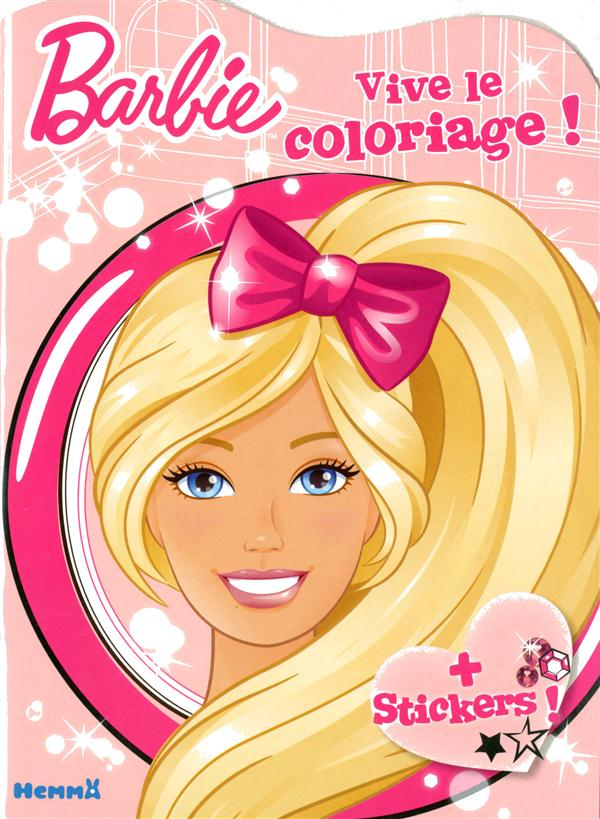 BARBIE VIVE LE COLORIAGE !