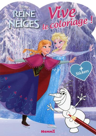 DISNEY LA REINE DES NEIGES VIVE LE COLORIAGE ! (PATIN A GLACE)