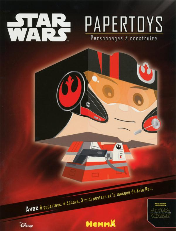 DISNEY STAR WARS PAPERTOYS PERSONNAGES A CONSTRUIRE (VOYAGE VERS L'EPISODE VII)