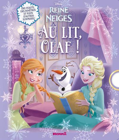 DISNEY LA REINE DES NEIGES AU LIT, OLAF !