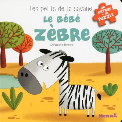LES PETITS DE LA SAVANE LE BEBE ZEBRE - 3