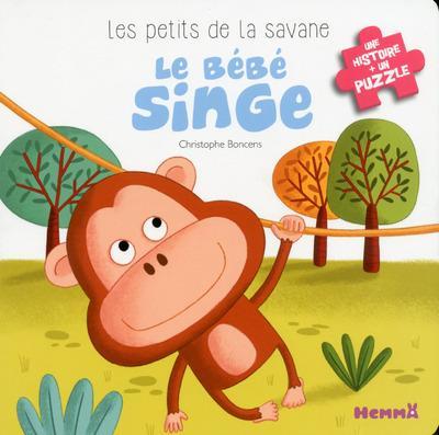 LES PETITS DE LA SAVANE LE BEBE SINGE - 4