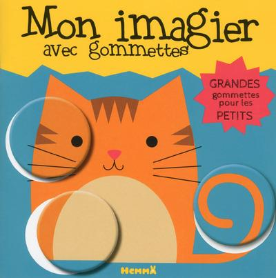 MON IMAGIER AVEC GOMMETTES (CHAT)