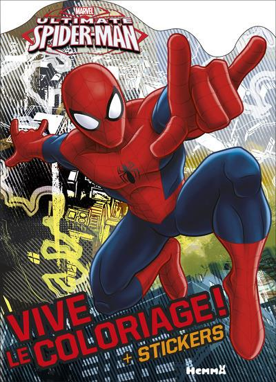 MARVEL ULTIMATE SPIDER-MAN VIVE LE COLORIAGE ! (M AIN LEVEE)