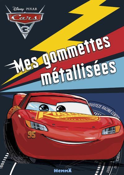 CARS 3 MES GOMMETTES METALLISEES