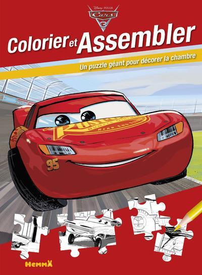 CARS 3 COLORIER ET ASSEMBLER