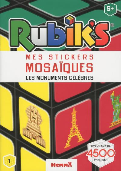 RUBIK'S MES STICKERS MOSAIQUES