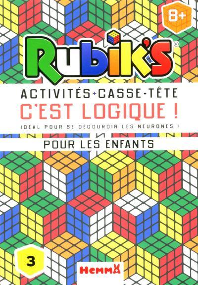 RUBIK'S ACTIVITES + CASSE-TETE C'EST LOGIQUE !