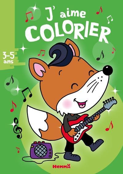 J'AIME COLORIER (3-5 ANS) (RENARD ROCKER)