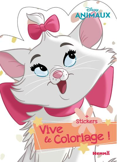 DISNEY ANIMAUX - VIVE LE COLORIAGE ! (PERSONNAGE MARIE)